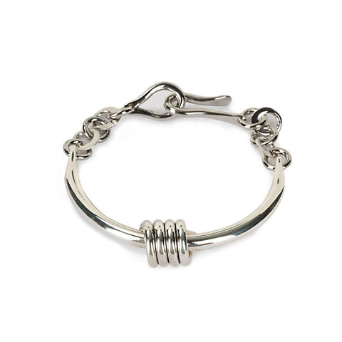 MAIA SINGLE CHAIN BRACELET IN SILVER