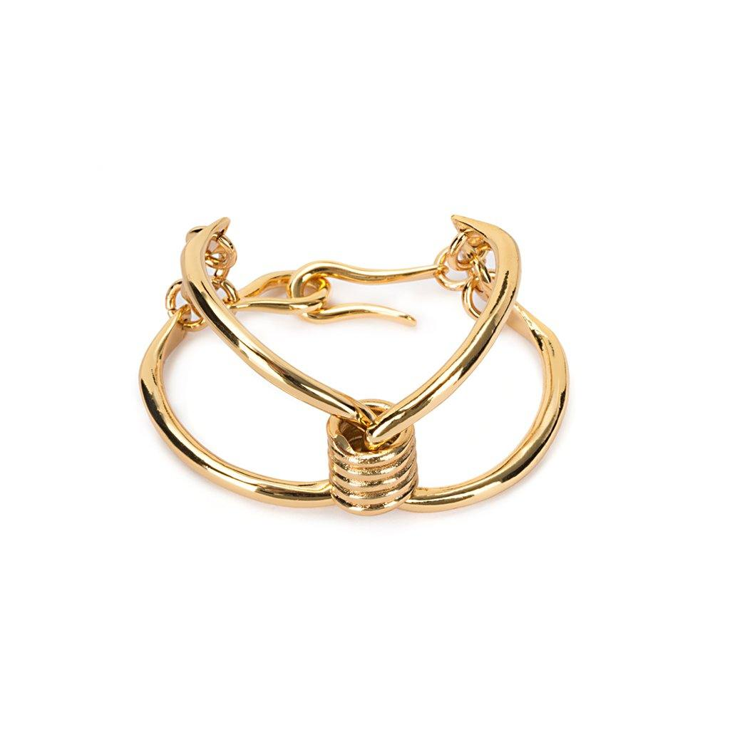 JARO BRACELET IN GOLD - Tohum Design