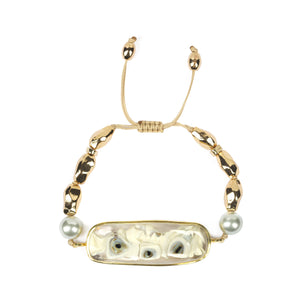 TOHUM OF THE DAY BRACELET IN GOLD - Tohum Design