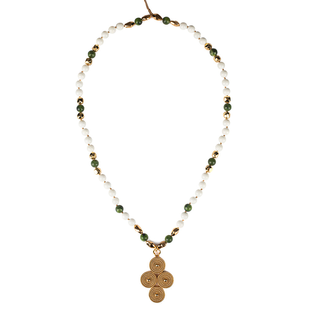 Intention Rebirth Long Necklace - Tohum Design