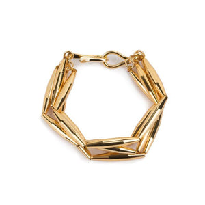 LUMIA MAIA MULTI CHAIN BRACELET IN GOLD - Tohum Design