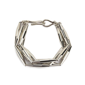 LUMIA MAIA MULTI CHAIN BRACELET IN SILVER - Tohum Design