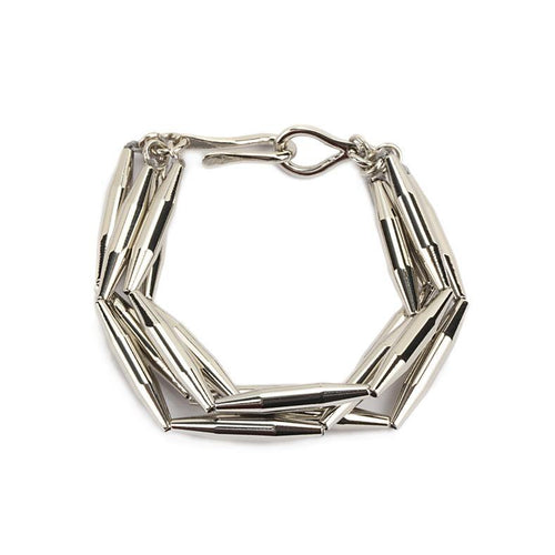 MAIA MULTI CHAIN BRACELET IN SILVER