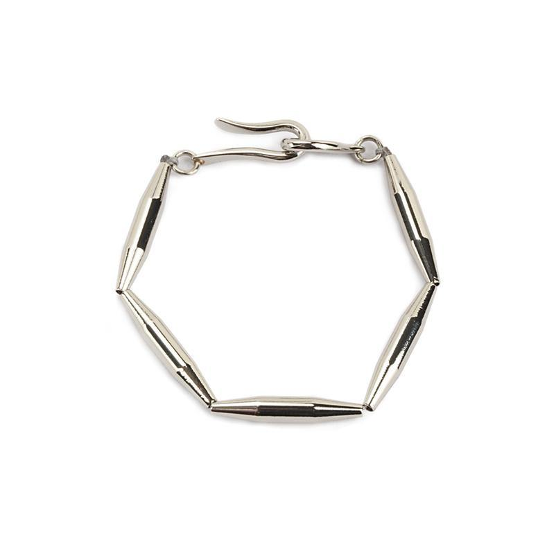 LUMIA MAIA SINGLE CHAIN BRACELET IN SILVER - Tohum Design