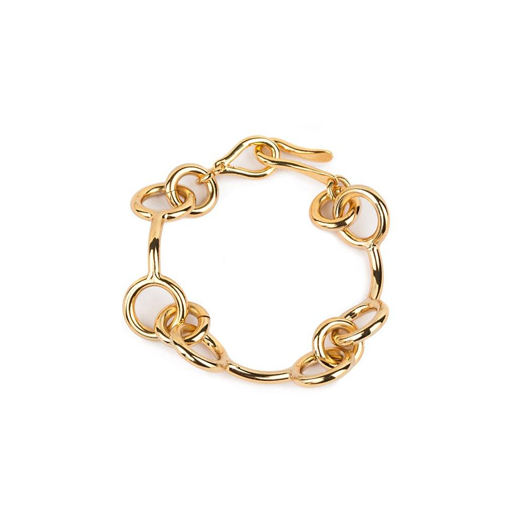 SAMOA BRACELET IN GOLD - Tohum Design