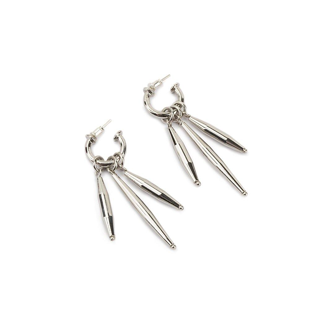MAIA EARRINGS II IN SILVER - Tohum Design