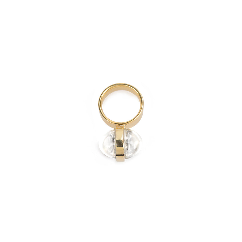 LUMIA SURYA RING IN GOLD - Tohum Design