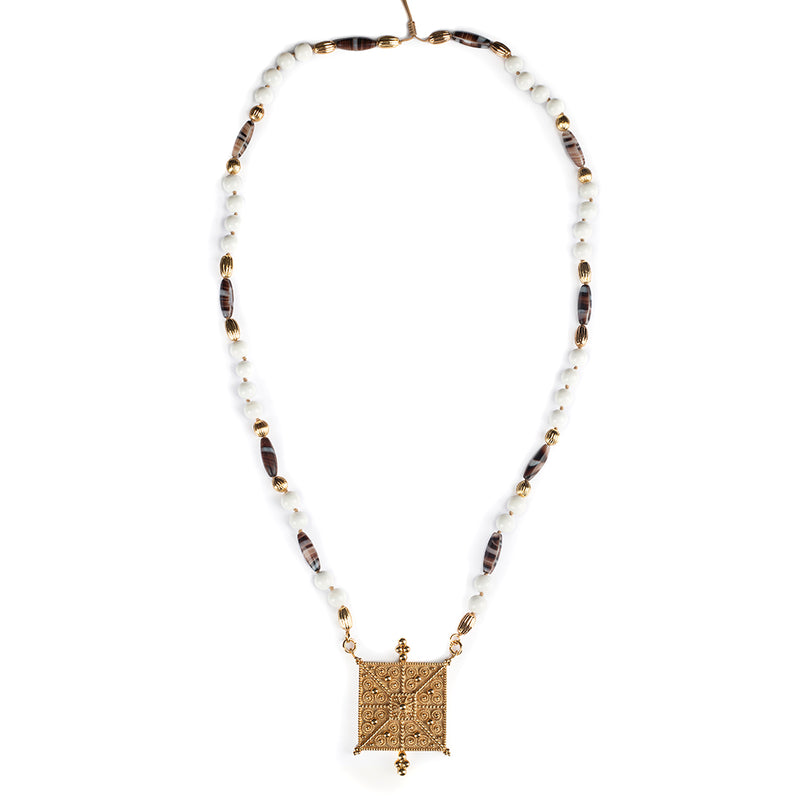 Pure Intentions - Faith Long Necklace - Tohum Design