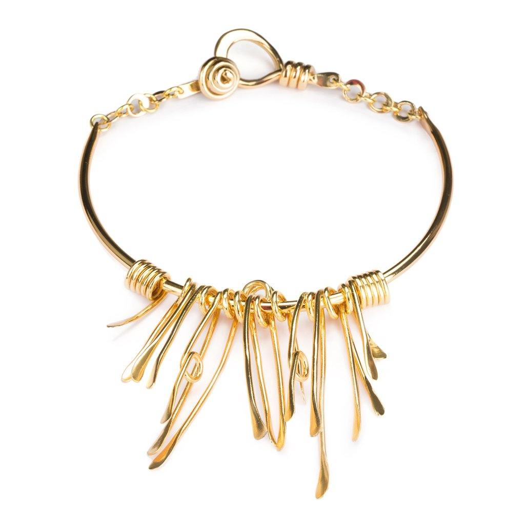 CALUSA NECKLACE IN GOLD - Tohum Design