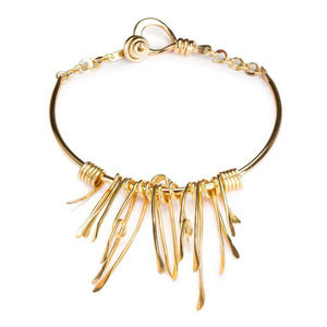 DUNYA CALUSA NECKLACE IN GOLD - Tohum Design