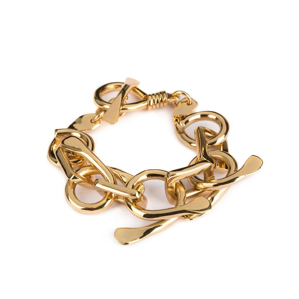 DUNYA PALU BRACELET IN GOLD - Tohum Design