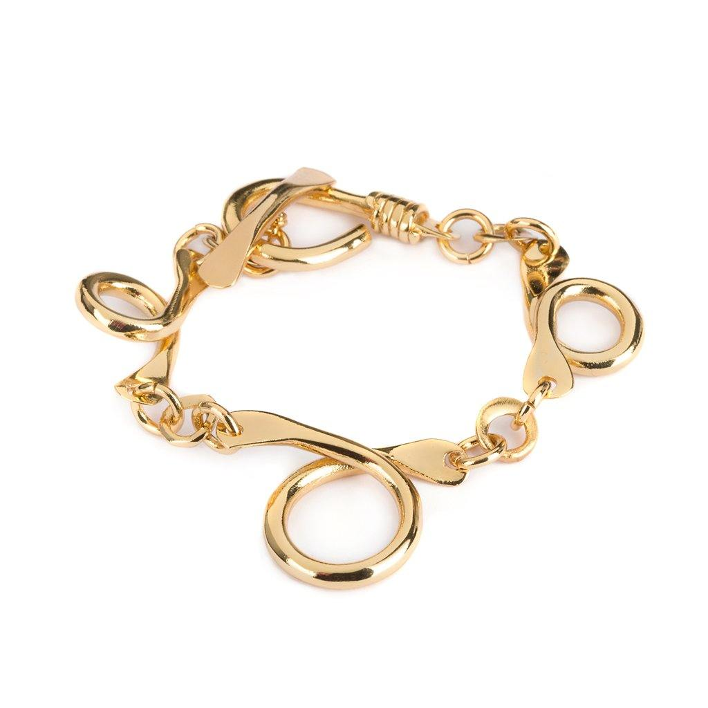 PRAIA BRACELET IN GOLD - Tohum Design