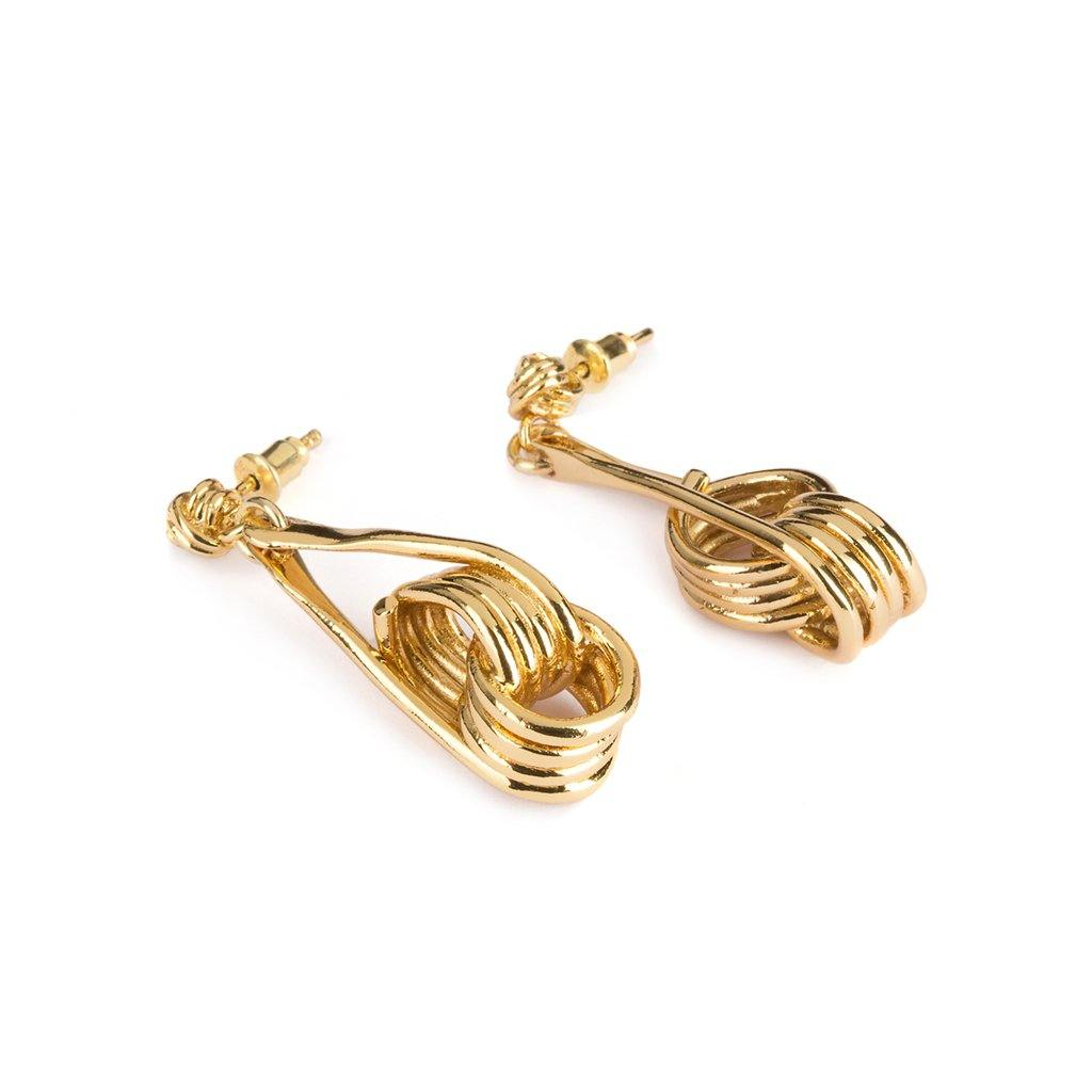 OURO EARRINGS GOLD - Tohum Design