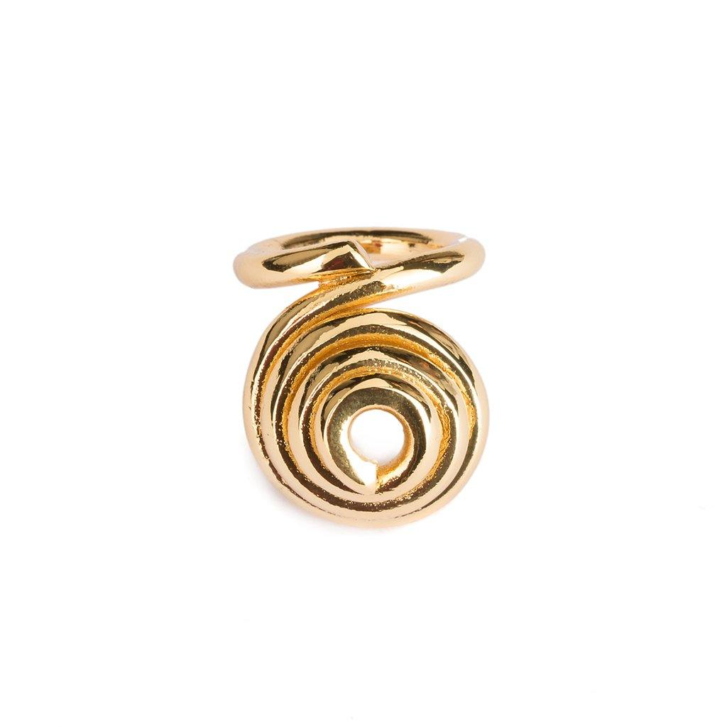 GAYA RING IN GOLD - Tohum Design