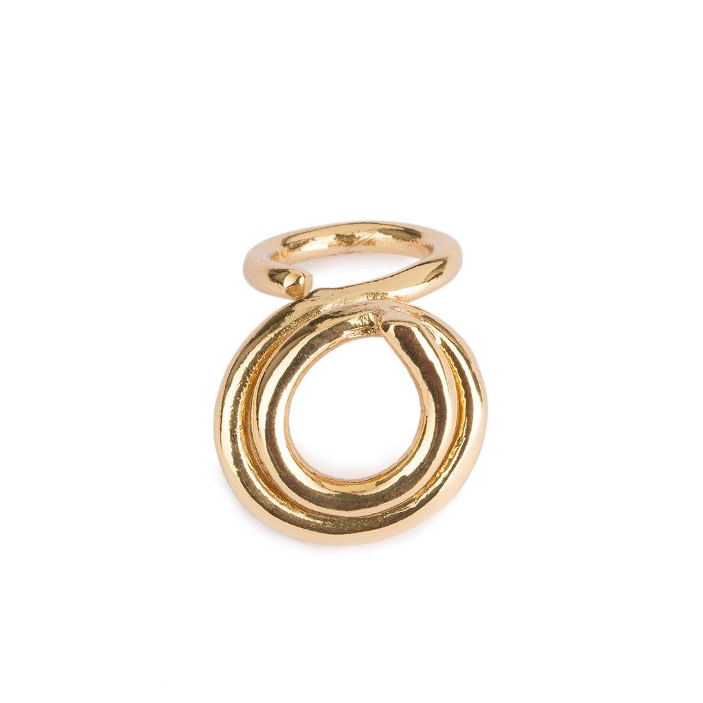 DUNYA SUMBA RING IN GOLD - Tohum Design
