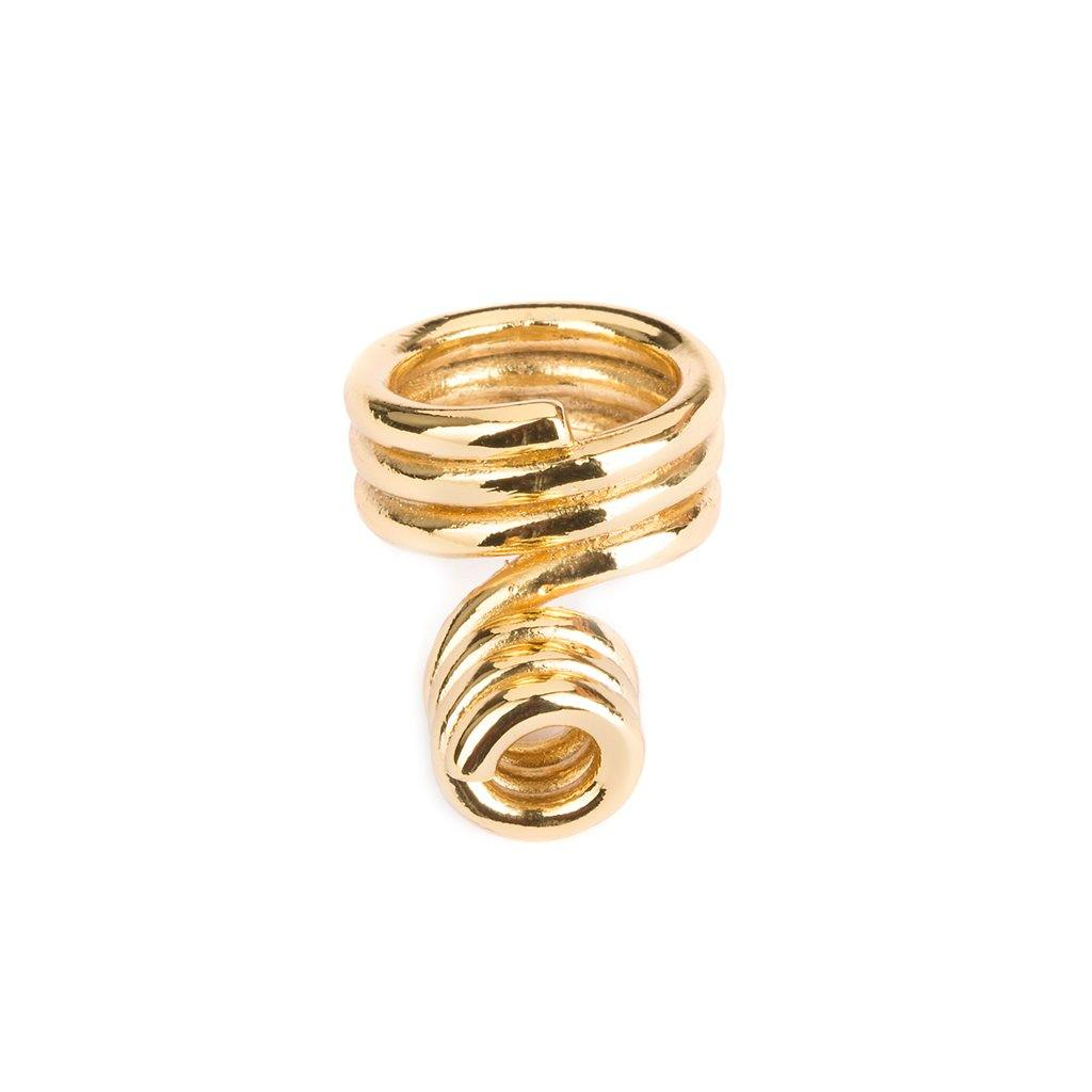 DUNYA LOME RING IN GOLD - Tohum Design