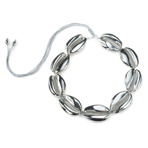 SAMOA NECKLACE IN SILVER