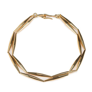 Lumia Helia Duo Chain Necklace In Gold - Tohum Design