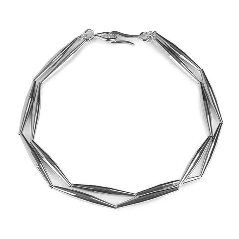 MAIA RESORT CUORE DUO BRACELET IN SILVER