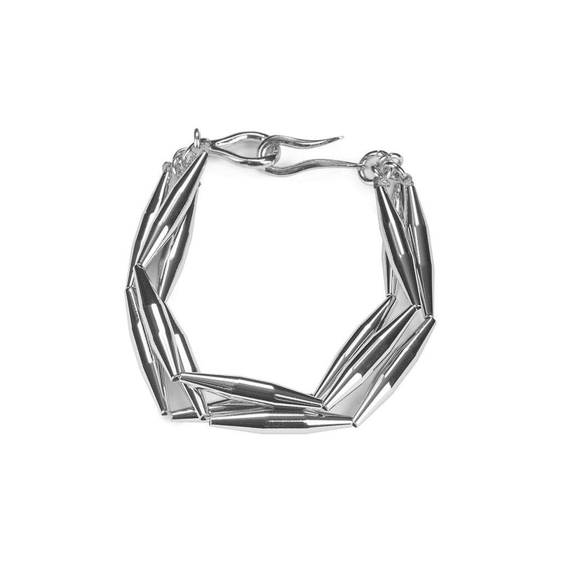 LUMIA MAIA TRIO CHAIN BRACELET IN SILVER - Tohum Design