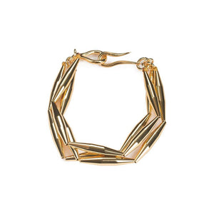 LUMIA MAIA TRIO CHAIN BRACELET IN GOLD - Tohum Design