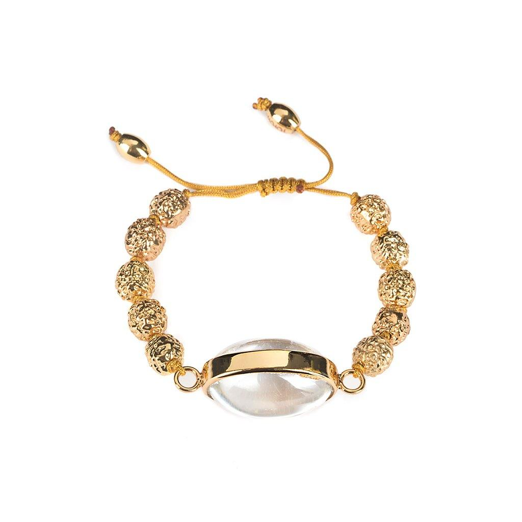 LUMIA RESORT SURYA GOLDEN SEEDS BRACELET IN GOLD - Tohum Design