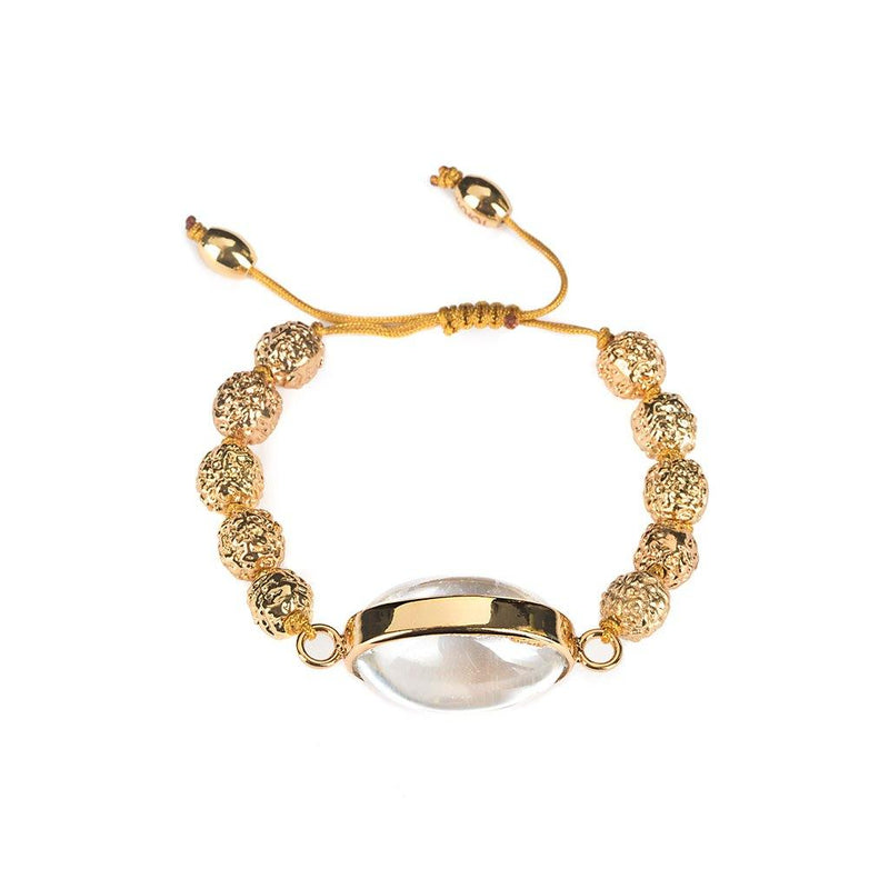 LUMIA RESORT SURYA RADRUSHKA BRACELET IN GOLD - Tohum Design