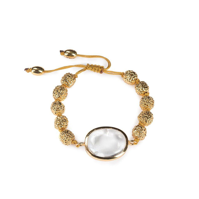 LUMIA RESORT THEIA GOLDEN SEEDS SMALL BRACELET IN GOLD - Tohum Design