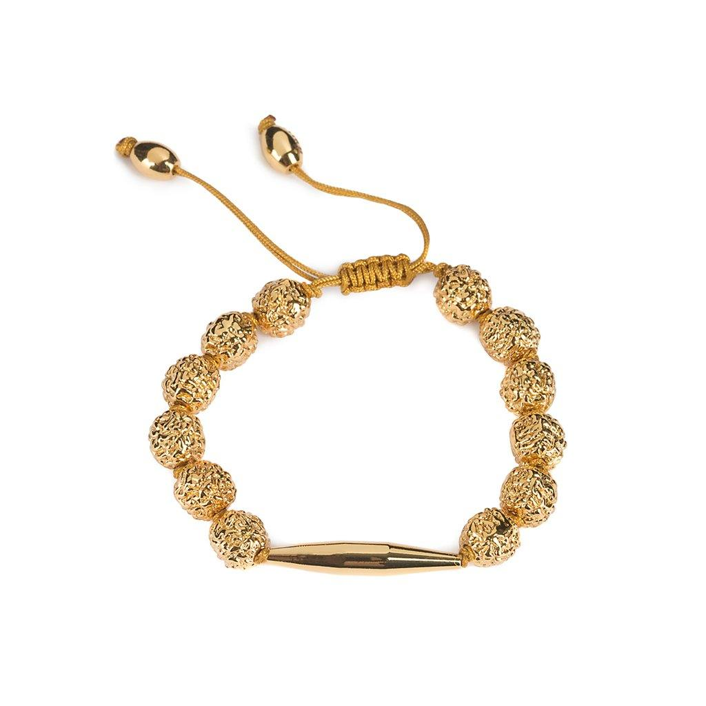 LUMIA RESORT GOLDEN SEEDS MAIA BRACELET IN GOLD - Tohum Design