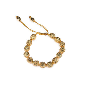 LUMIA RESORT GOLDEN SEEDS BRACELET IN GOLD - Tohum Design