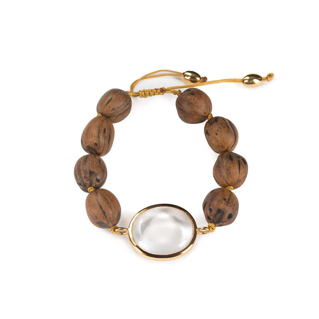 LUMIA RESORT THEIA SMALL BRACELET II IN GOLD - Tohum Design