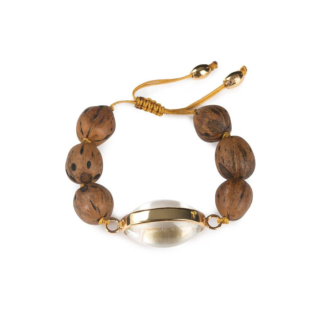 LUMIA RESORT SURYA BRACELET IN GOLD - Tohum Design