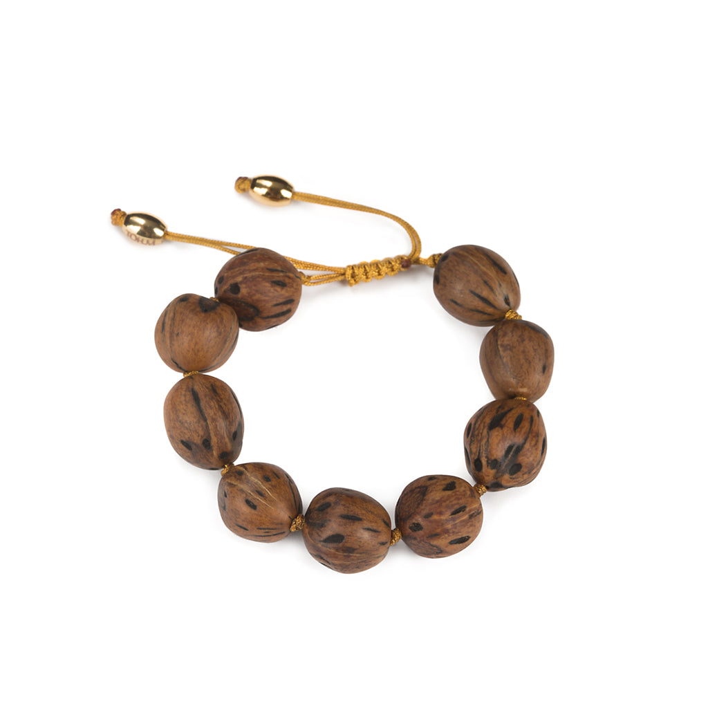 LUMIA RESORT WOOD BEADS  BRACELET - Tohum Design