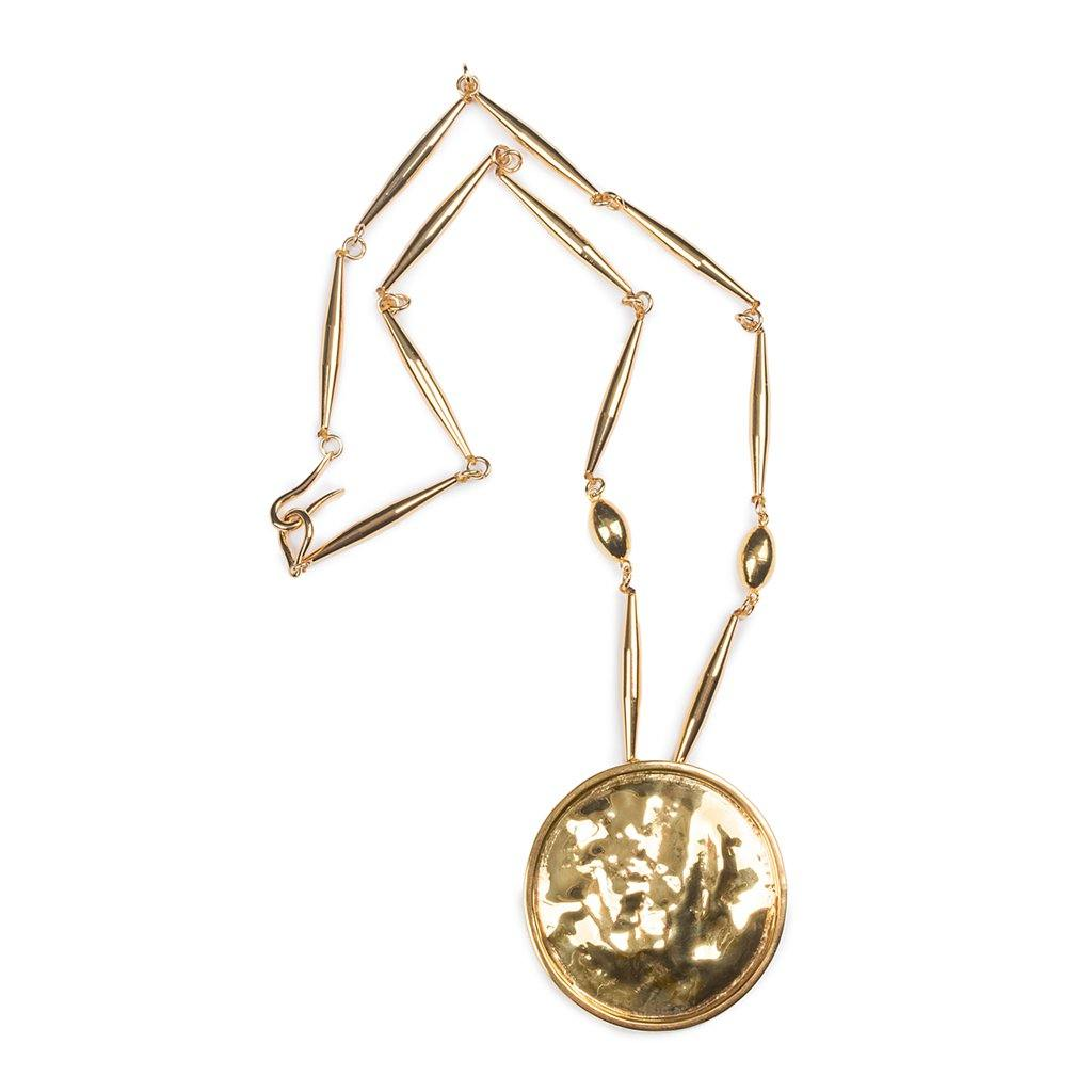 LUMIA RESORT ARINNA NECKLACE IN GOLD - Tohum Design