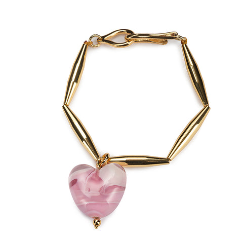HELIA RESORT CUORE DUO NECKLACE IN GOLD