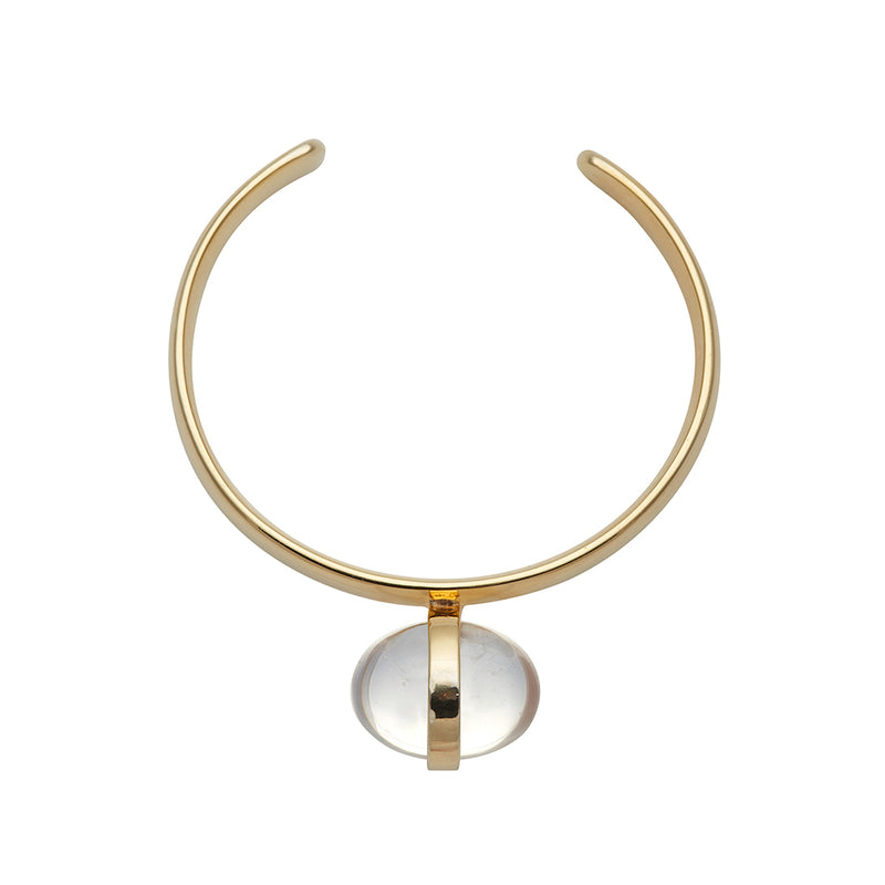 LUMIA SURYA CUFF BRACELET IN GOLD - Tohum Design