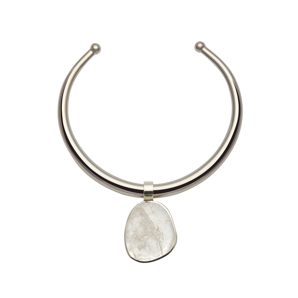 TARA NECKLACE IN SILVER