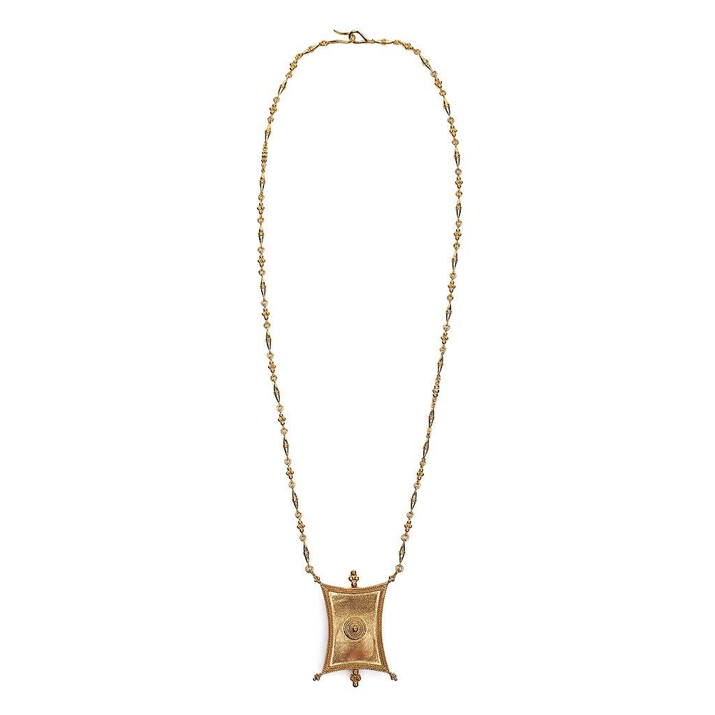 INTENTION FREEDOM LONG NECKLACE - Tohum Design