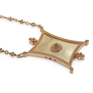 INTENTION FREEDOM SHORT NECKLACE - Tohum Design