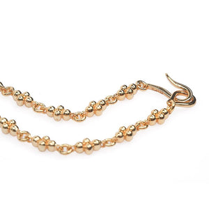 INTENTION CYCLES CHAIN NECKLACE - Tohum Design