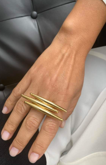 HELIA RING IN GOLD - Tohum Design