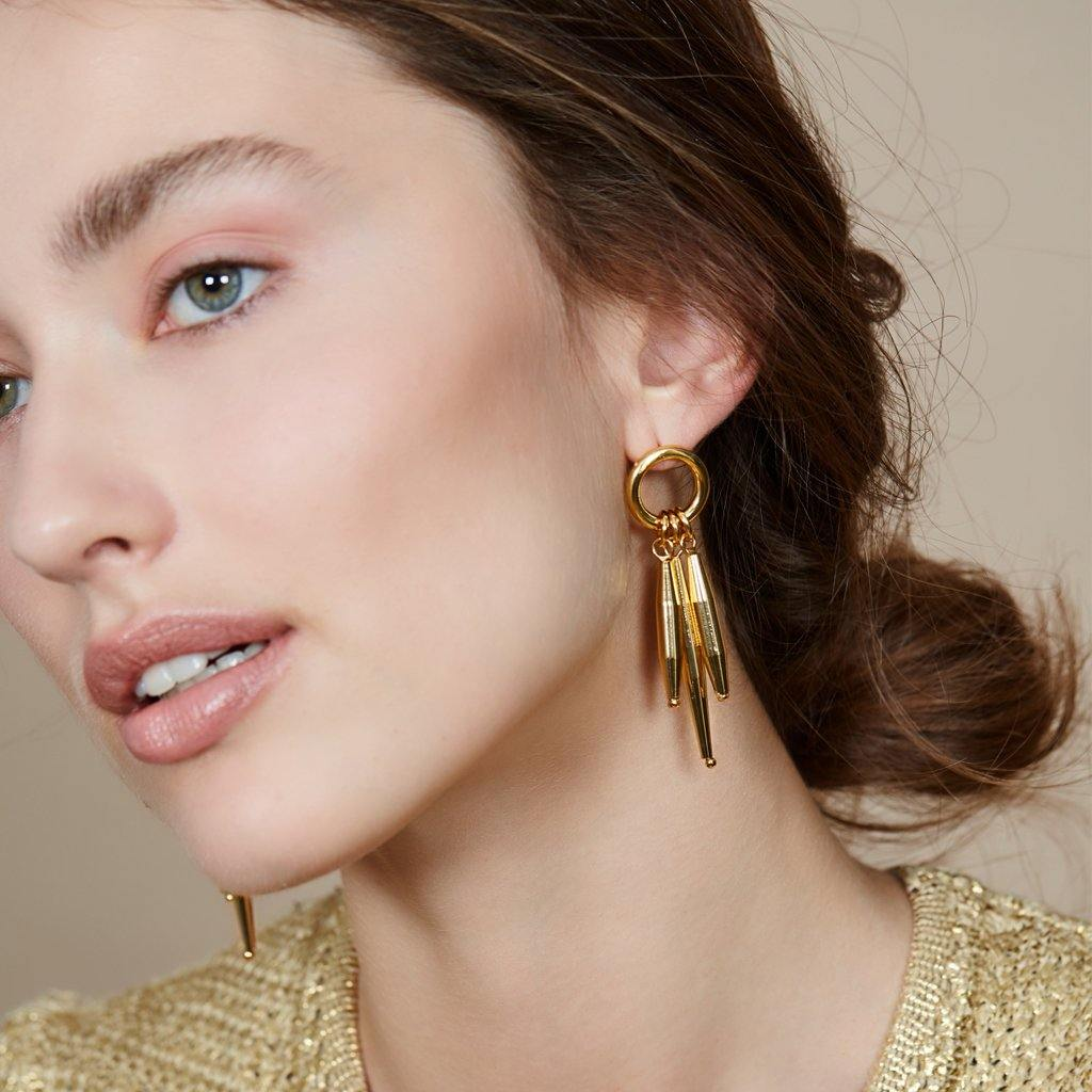 MAIA EARRINGS I IN GOLD