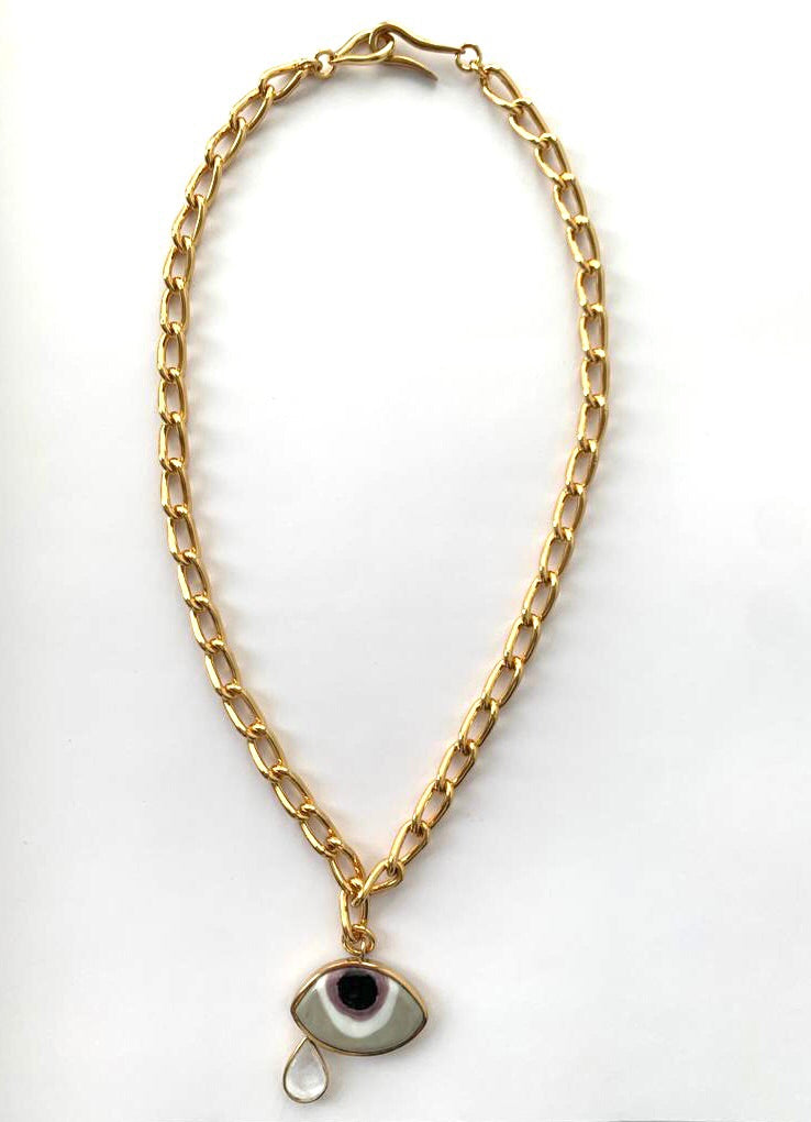 Istanbul Necklace In Gold - Tohum Design