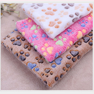 Winter warm thickness large Dog sleep Mat cat beds Fleece Soft Puppy Blanket Cat Cushion pet dogs Chihuahua/Teddy Pet Supplies