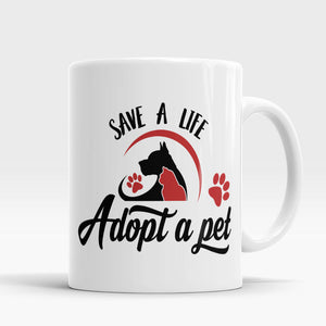 pet Mug dog cat coffee tea mug Office Coffee Mugs cups ceramic tea cups home decal