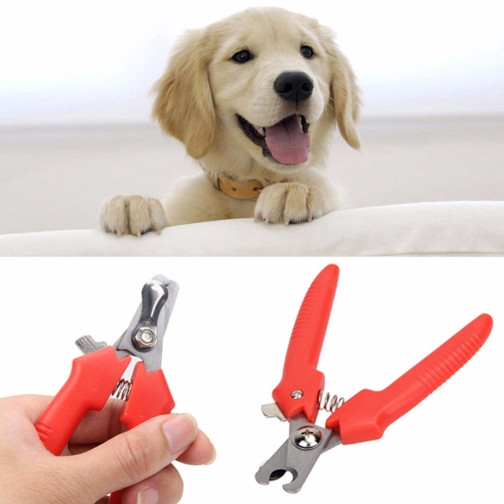 Pet Dog Cat Nail Clippers Scissors pet Toe Care Nail Grooming Trimmer Clipper For Dog's Pet Supplies