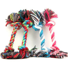 New cotton rope Pet Dog Toys Puppy Cotton Chew Knot Durable Braided Bone Rope Pets Cat Toy For Small Dogs Pet Supplies