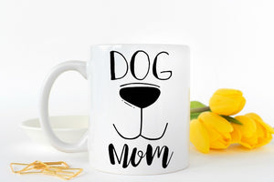 Dog Mom Mugs coffee mug home decal tea Cups beer mug Dishwasher&Microwave Safe tea cups