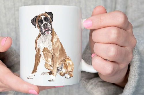 Boxer Dog mugs coffee mugen home decal tea  Dishwasher&Microwave Safe beer cups