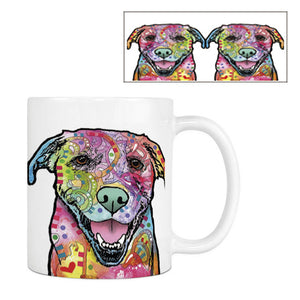 Fashion Labrador Coffee Mug Funny Dog White Ceramic Creative Tea Mug Customize Birthday anniversary Gift For Family Friends